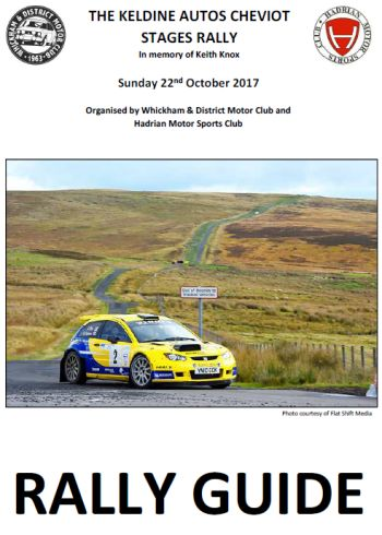 2017 Cheviot Rally Guide